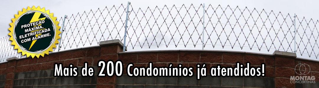 Cerca Concertina Rede Laminada para Condomínios